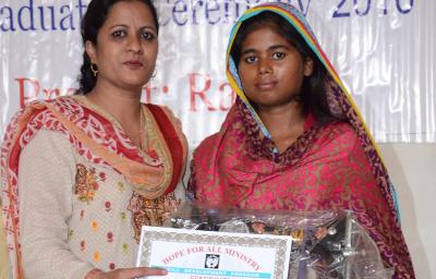 Girls Sewing Graduation